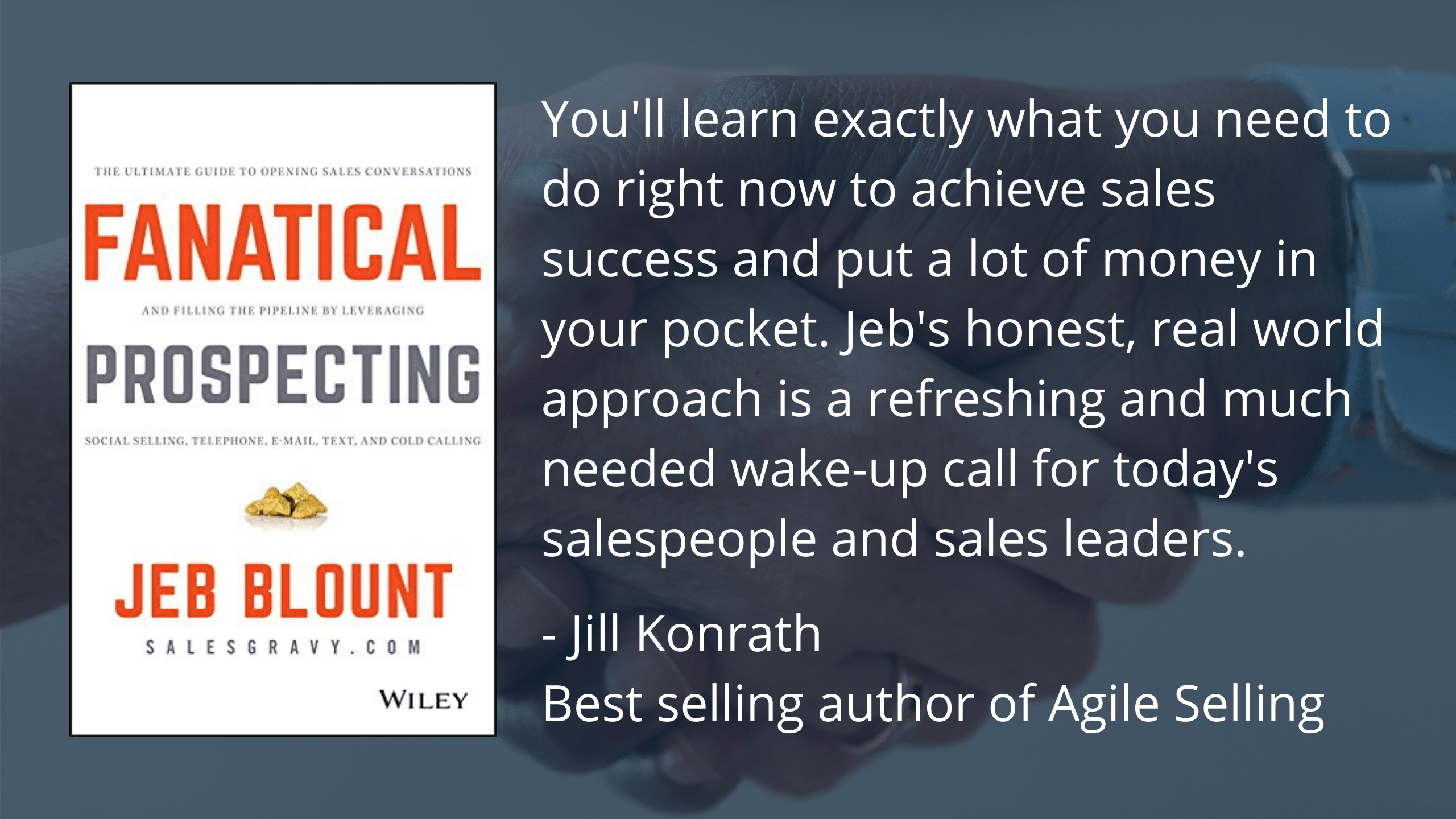 Book Notes Fanatical Prospecting By Jeb Blount